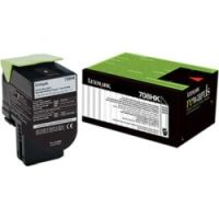 Genuine Lexmark 70C8HK0 Black High Yield Toner
