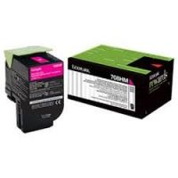 Genuine Lexmark 70C8HM0 Magenta High Yield Toner