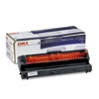 Genuine Oki Okifax 40709901 Black Drum Unit