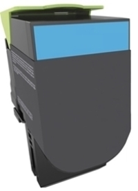 Remanufactured Lexmark 71B10C0 Cyan Toner 2,300 Yield