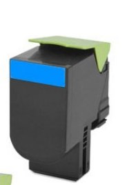 LEXMARK 80C1HC0 Cyan Remanufactured Toner Cartridge (2,000 Yield)