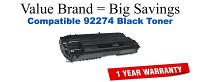 92274A,74A Black Compatible Value Brand toner
