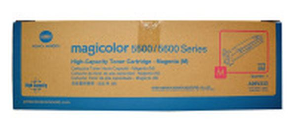 New Original Konica Minolta A06V333 Magenta Toner Cartridge