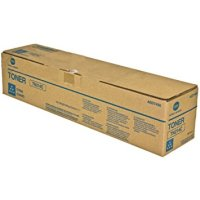 New Original Konica Minolta A0D7435 Cyan Toner Cartridge
