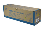 New Original Konica Minolta A0DK231 Yellow Toner Cartridge