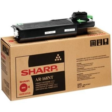 Genuine Sharp AR168NT Black Toner Cartridge