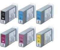 Canon BCI-1401 - Remanufactured 6 Color Ink Catridge Set (Black, Cyan, Magenta, Yellow, Light Cyan, Light Magenta)