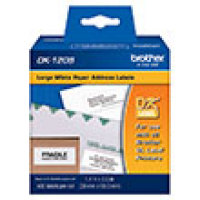 Genuine Brother DK1208 Large Address Die-Cut Paper Label (400 Labels) (1/Pkg)