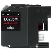 Genuine Brother LC205M Magenta Ink Cartridge