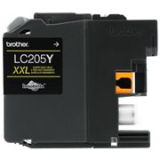 Genuine Brother LC205Y Yellow Ink Cartridge