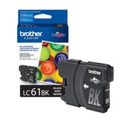 Genuine Brother LC61BK Black Ink Cartridge