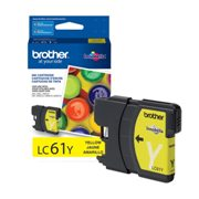 Genuine Brother LC61Y Yellow Ink Cartridge