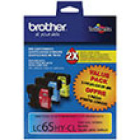 Genuine Brother LC653PKS (3 Color Combo Ink Pack)