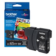 Genuine Brother LC65HYBK High Yield Black Ink Cartridge