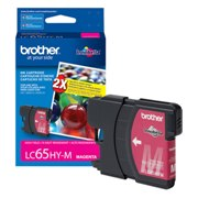 Genuine Brother LC65HYM High Yield Magenta Ink Cartridge