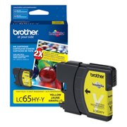 Genuine Brother LC65HYY High Yield Yellow Ink Cartridge