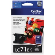Genuine Brother LC71BK Black Ink Cartridge