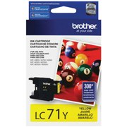 Genuine Brother LC71Y Yellow Ink Cartridge
