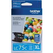 Genuine Brother LC75C Cyan Ink Cartridge