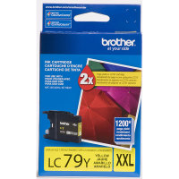Genuine Brother LC79Y Yellow Toner Cartridge