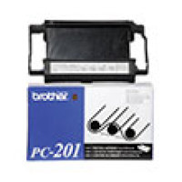 Genuine Brother PC201 Black Fax Cartridge
