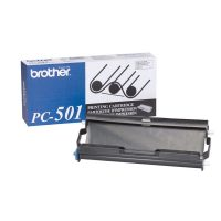 Genuine Brother PC501 Black Ribbon Cartridge
