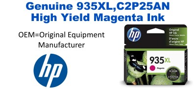 935XL,C2P25AN Genuine High Yield Magenta HP Ink