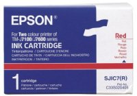 Genuine Epson C33S020405 Red Ink Cartridge