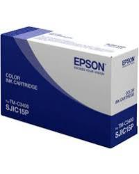 Genuine Epson C33S020464 Tri-color Ink Cartridge