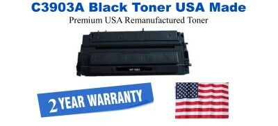 C3903A,03A Black Premium USA Made Remanufactured HP toner