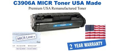 C3906A,06A MICR USA Made Remanufactured toner