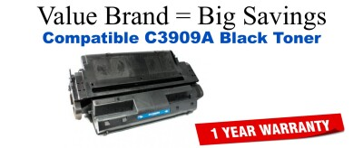 C3909A,09A Black Compatible Value Brand toner