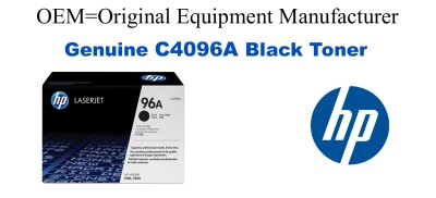 New Original HP 96A Black Toner Cartridge (C4096A)