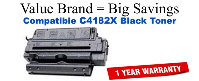 C4182X,82X High Yield Black Compatible Value Brand toner