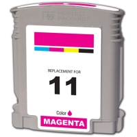 HP 11 Magenta Remanufactured Ink Cartridge (C4837A)