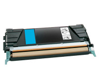Lexmark C500H2CG Cyan High Yield Remanufactured Toner (3,000 Yield)