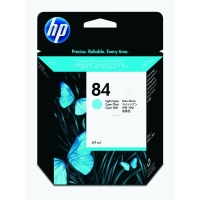 New Original HP 84 Light Cyan Ink Cartridge (C5017A) (#84)