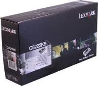 Genuine Lexmark C5222KS Black Toner Cartridge (4,000 Yield)