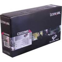 Genuine Lexmark C5222MS Magenta Toner Cartridge (3,000 Yield)