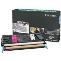 Genuine Lexmark C5240MH Magenta High Yield Toner Cartridge (5K Yield)