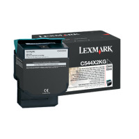 Genuine Lexmark C544X2KG Black Extra High Yield Toner (6,000 Yield)