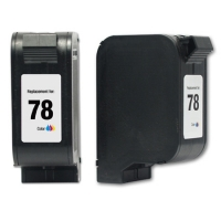 HP 78XL TriColor Remanufactured Ink Cartridge (C6578DN,C6578AN)(#78XL)
