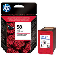 New Original HP 58 Photo Tri-Color Ink Cartridge (C6658AN) (#58)