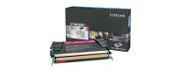 Genuine Lexmark C736H2MG Magenta High Yield Toner Cartridge (1K Yield)