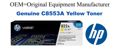 New Original HP 822A Magenta Toner Cartridge (C8553A)