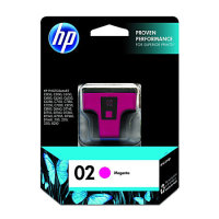 New Original HP 02 Magenta Ink Cartridge (c8772wn) (#02)