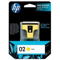 New Original HP 02 Yellow Ink Cartridge (c8773wn) (#02)
