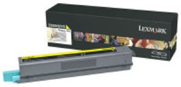 Genuine Lexmark C925H2YG Yellow Toner Cartridge (7,500 Yield)