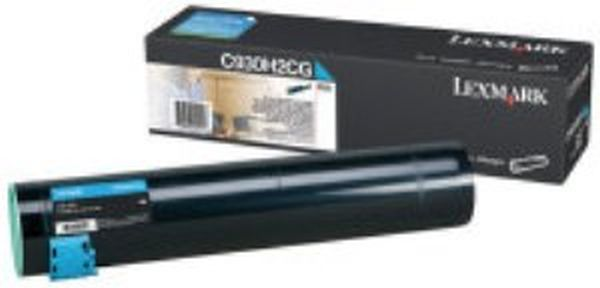 Genuine Lexmark C930H2CG Cyan Toner Cartridge (24,000 Yield)