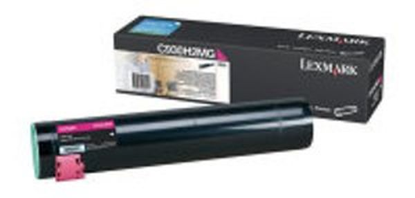Genuine Lexmark C930H2MG Magenta Toner Cartridge (24,000 Yield)